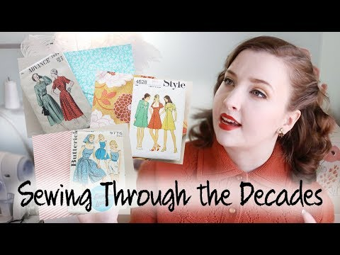 Sewing through the Decades Series + Patreon