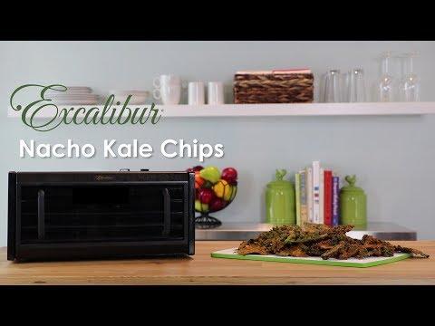 Excalibur Nacho Cheese Kale Chips Recipe