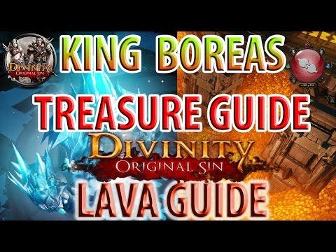 Divinity: Original Sin - King Boreas Treasure Guide - Getting Past Lava Guide - Hiberheim Castle
