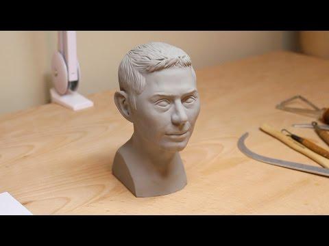 Roman portrait bust demo
