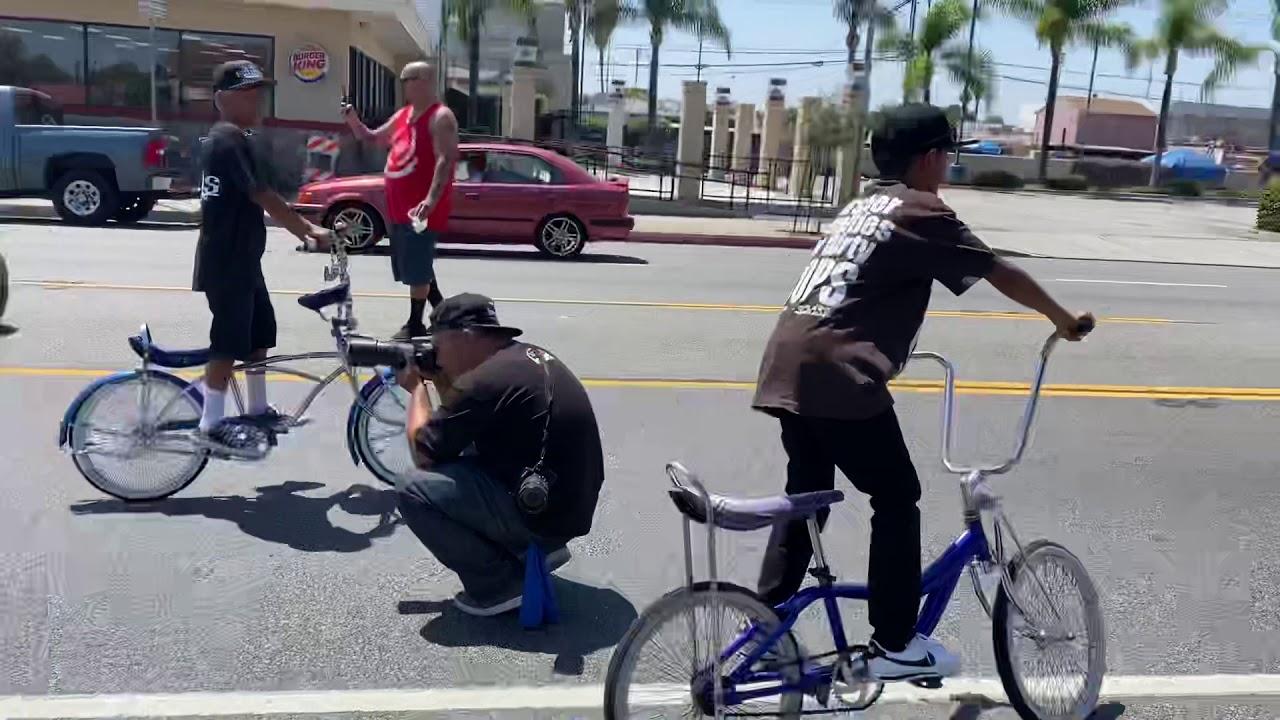 Lowrider bikes in East Los 2020