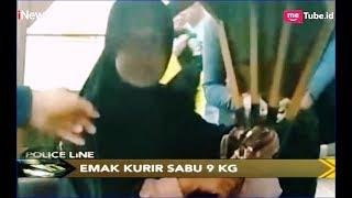 Download Emak-emak Pengedar 9 Kg Sabu Ditangkap saat Naik Becak Motor di Riau - Police Line 19/03 Video
