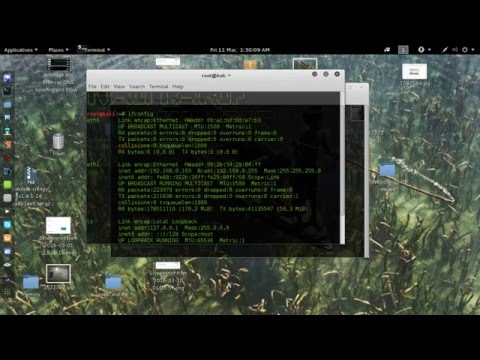 how to know your ip address on kali linux