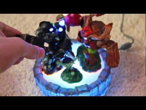 Skylanders Giants - Portal of Power Hack (Play a 3-pack still in box - Trick)
