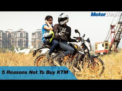 5 Reasons Not To Buy A KTM | MotorBeam