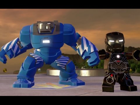 LEGO Marvel's Avengers - All Iron Man Suit-Up Animations and Suits Unlocked