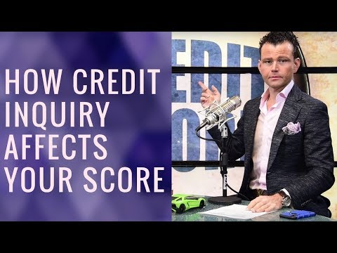 How Credit Inquiries Affect your Credit Score