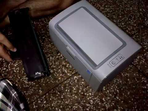 Samsung Toner Chip hack by Dinesh Sharma