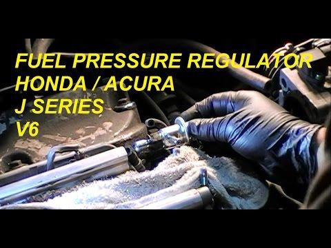 DIY: Acura Honda (FPR) Fuel Pressure Regulator J Series V6 - Bundys Garage