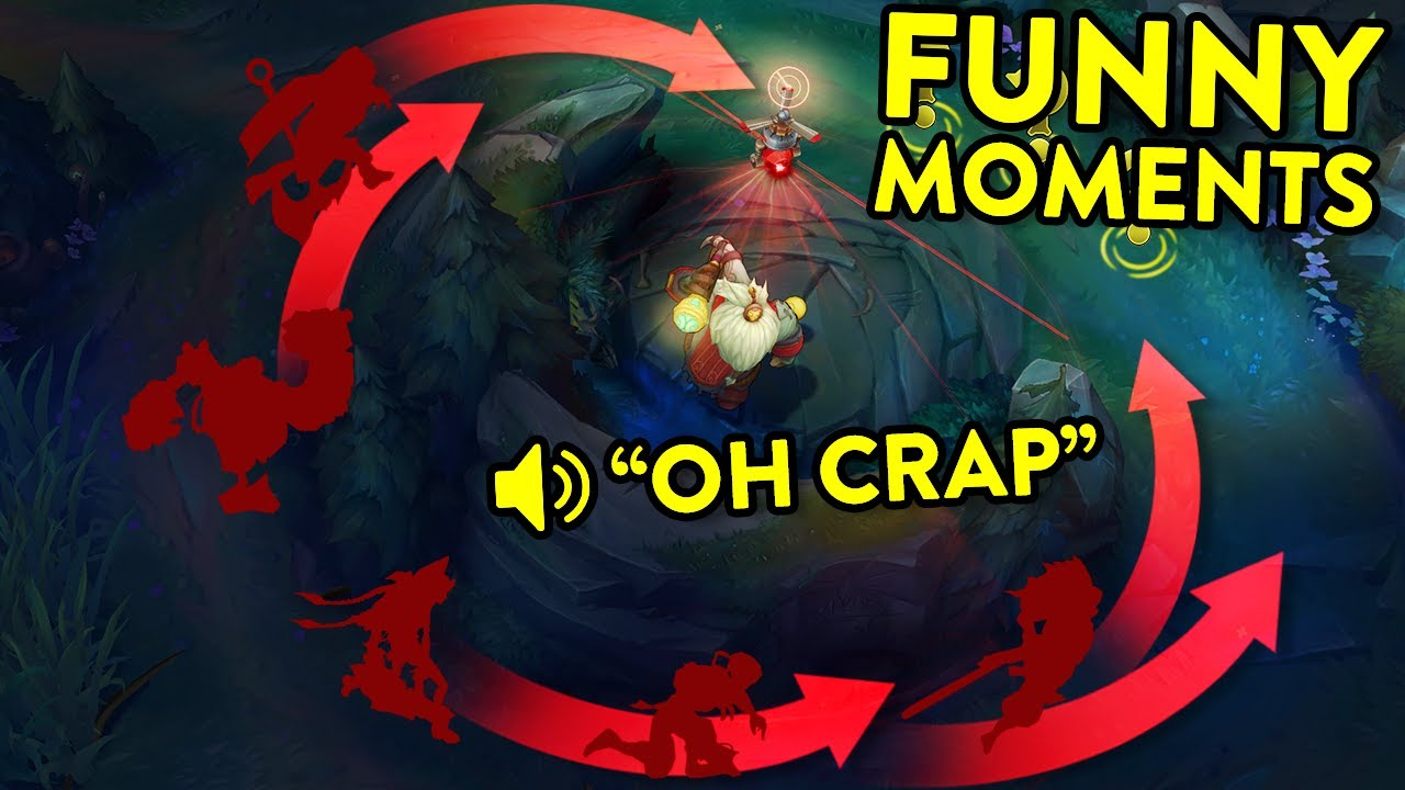FUNNIEST MOMENTS OF 2021 (URF Cannon Cheese, Crazy Level 1 Invade...)