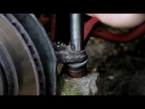 How to screw nut on deformed bolt without big hassle