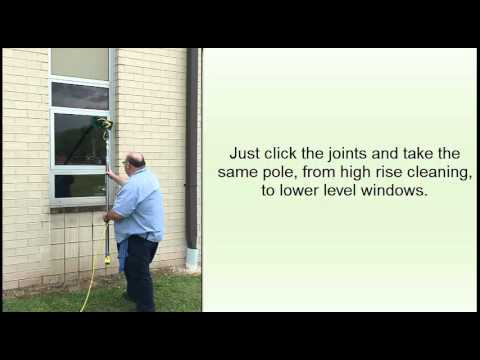 How to Clean High Rise Windows from the Ground