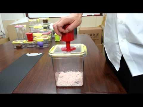 Push&Push Video clip for Vacuum Airtight Container