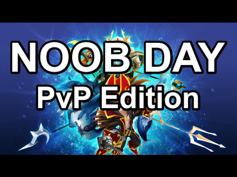 NOOB DAY  (PVP EDITION)