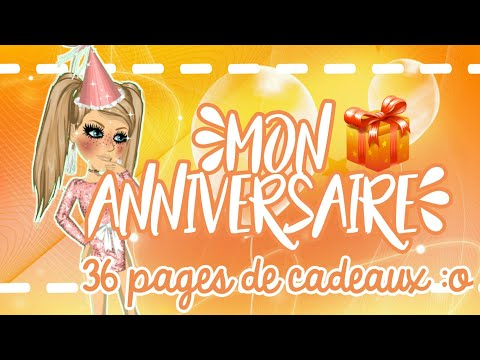 It's my birthday 🎉/ Cadeaux MSP 💖