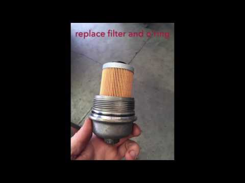 How To Replace Oil Filter On Holden Commodore VY, VZ, VE 6cyl