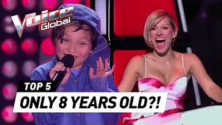 8-Year-Olds that SHOCKED coaches in The Voice Kids