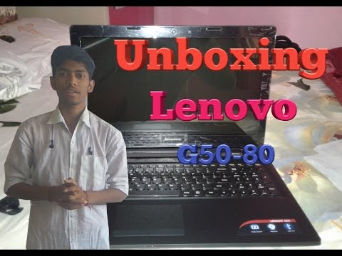lenovo g50-80 laptop unboxing |review|i3 5th gen,4/16GB ram,2GB Graphics,15.6