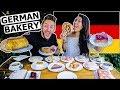American Girlfriend Tries German Bakery Items