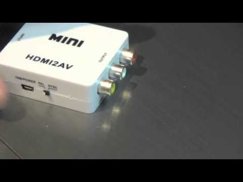 Another defective HDMI2AV adapter