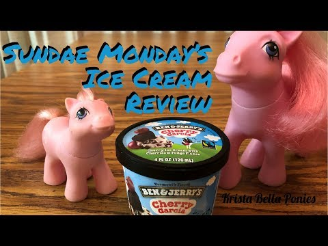 Cherry Garcia Ice Cream with the Ponies