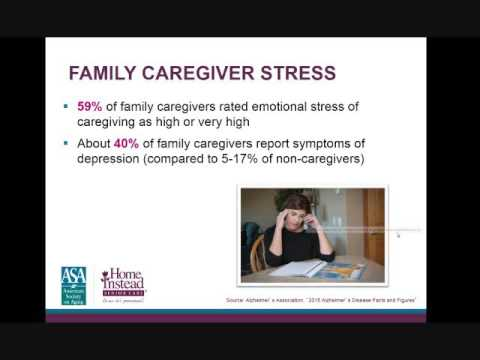 Caring for Someone With Alzheimer's - Professional Caregiver Webinar