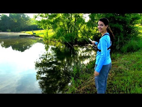 Fly Fishing for Bluegills - Plus Liz Catches a Big Bass