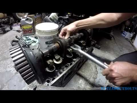 How to use a pickle fork to remove 2 3 Ford rocker arms on SVO Mustang Ranger T Bird XR4TI