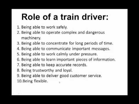 Train Driver Interview Questions