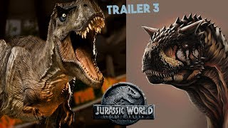 Predictions for Jurassic World Fallen Kingdom Trailer #3 | New Dinos/Characters/Storylines