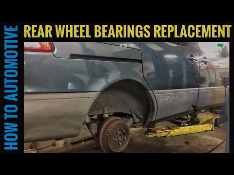 How to Replace the Rear Wheel Bearings on a 1998-2003 Toyota Sienna