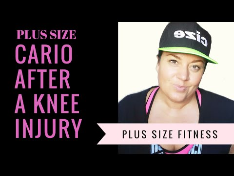 Cardio after a knee injury - Plus Size Fitness episode #8