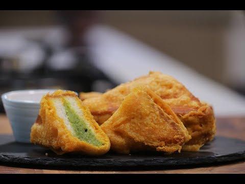 Bread Pakora | Recipes Under 15 Minutes | Chef Jaaie | Sanjeev Kapoor Khazana