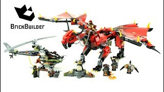 Lego Ninjago 70652 Stormbringer Lego Speed Build