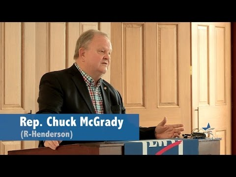 CCNC honors Rep. Chuck McGrady for redistricting reform
