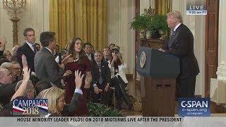 Exchange between President Trump and CNN's Jim Acosta (C-SPAN)