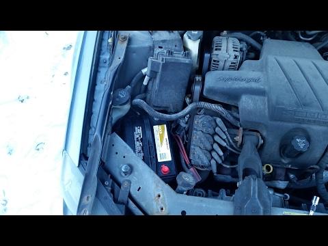 How to Replace Car Battery - GM Pontiac Grand Prix