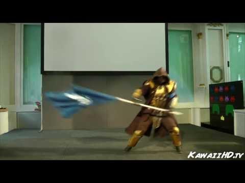 Breton Warrior, The Elder Scrolls Online Cosplay-show @ AkiCon 2013
