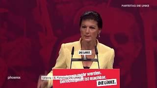 Parteitag Die Linke: Rede von Sahra Wagenknecht mit anschließender Aussprache vom 10.06.18 - Teil 1