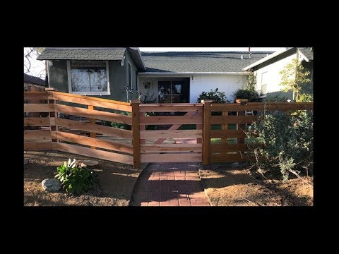 How to Build a Front Yard Fence - Simple & Easy! by CoKnowPro (YouTube)