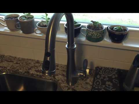 Fixing Low Kitchen Faucet Water Pressure on a Kohler Bellera K-560