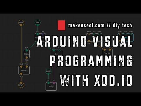 Arduino Visual Programming, with XOD.io