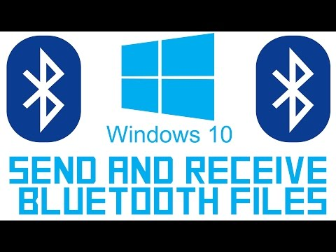 How to Send & Receive Bluetooth files on Windows 10
