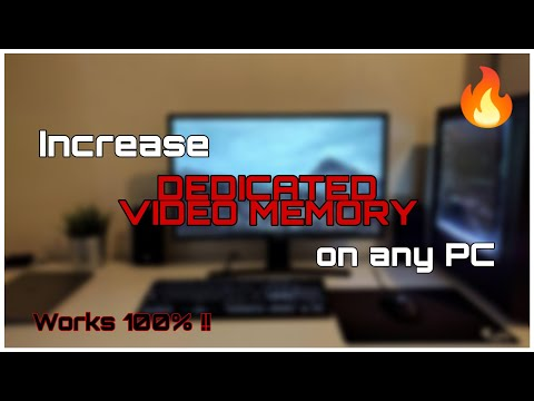 How to Increase Dedicated Video Memory On Any PC - Simple and Easy