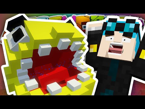 Minecraft   NEW HOUSE PACMAN ATTACK!!   Crazy Craft 3.0 #5