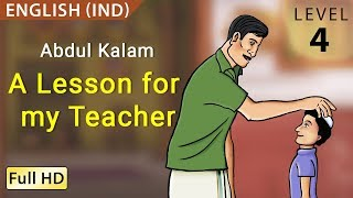 """Abdul Kalam, A Lesson for my Teacher: Learn English - Story for Children """"BookBox.com"""""""