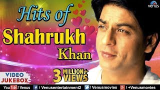 SHAHRUKH KHAN HITS : Best Bollywood Romantic Songs | VIDEO JUKEBOX | Best Hindi Songs