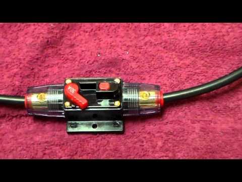 broken circuit breaker