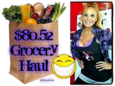 $80 52 Grocery Haul: #MouthBreather