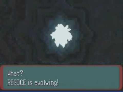 Pokemon evolution hack 3(Regirock+Regice+Registeel)